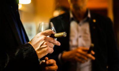 Zigarren Unterhaltung