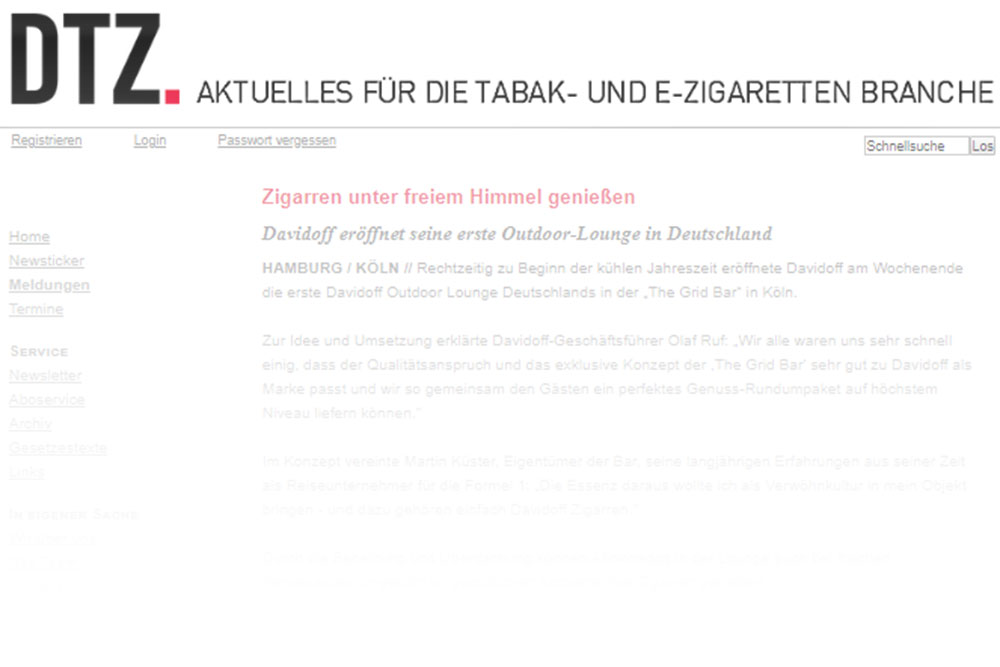 DTZ-Davidoff-Lounge Artikel-Ttelbild